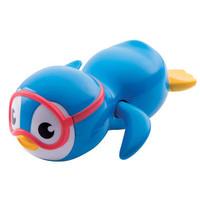munchkin 满趣健 游泳企鹅发条浴室玩具 蓝色