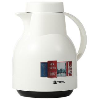 特美刻(TOMIC) 家用保温瓶热水瓶   KJ200 白色 1L *2件+凑单品