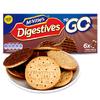 Mcvitie's 麦维他 全麦粗粮酥性巧克力味消化饼干 199.8g