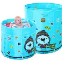 诺澳 辛巴狗系列 夹棉保温款 婴儿游泳池 70*80cm