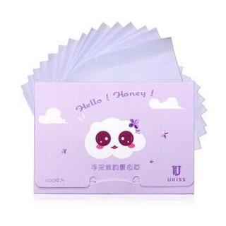悠珂思(ukiss)紫韵薰衣草香氛吸油面纸 100枚入 *2件