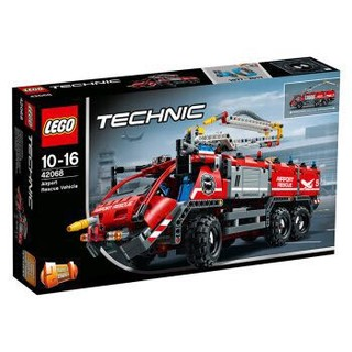 京东PLUS会员 : LEGO 乐高 机械组 机场救援车 42068