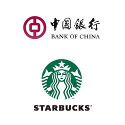 中国银行 X 星巴克 银联二维码支付