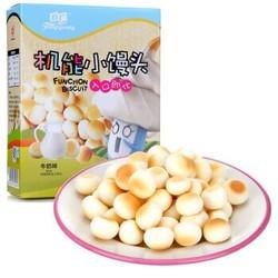 FangGuang 方广 机能小馒头 80g 牛奶味 *17件