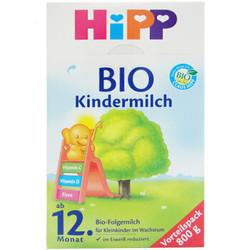HiPP 喜宝 有机系列 婴幼儿配方奶粉 1+段 12个月以上 800gx4