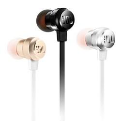 JBL T280A 立体声入耳式耳机 珍珠黑