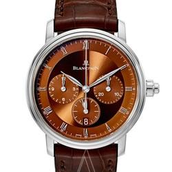 BLANCPAIN 宝珀 Villeret 6185-1546-55A 男士机械腕表