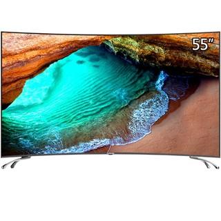 18日0点 : CHANGHONG 长虹 55D3C 55英寸 曲面 4K液晶电视