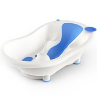 京东PLUS会员:小白熊 09257 婴儿带浴椅浴盆 *2件