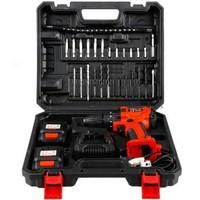 京东PLUS会员、限地区:SANTO 赛拓 9701 12V双锂电池电钻套装