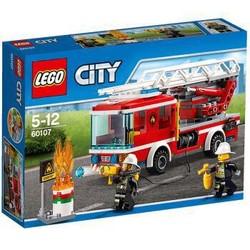 LEGO 乐高 城市系列 云梯消防车 60107 *3件