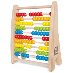 Hape 益智玩具 彩虹珠算架 E0412 学习算盘 早教儿童玩具