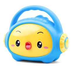 小鸡叫叫 儿童故事机 3-6岁益智早教机玩具卡通音箱 可充电下载 新8G单机 蓝色