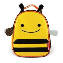 SKIP HOP可爱动物园保温午餐包 手提餐袋 儿童野餐包-小蜜蜂 3岁以上 美国
