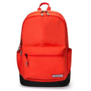 瑞士军刀威戈(Wenger)防泼水男女时尚休闲背包双肩包笔记本电脑包13英寸大容量 橘色 SGB12017140045