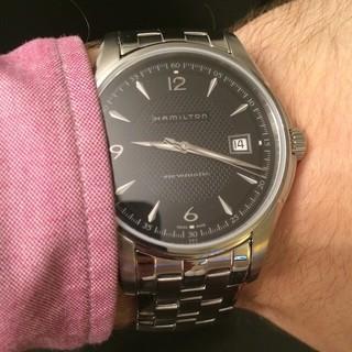 值友专享 : HAMILTON 汉米尔顿 JAZZMASTER系列 H32455135 男士机械腕表