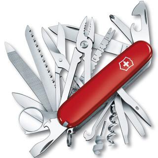 维氏VICTORINOX瑞士军刀 英雄(33种功能)红色光面1.6795