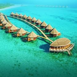 全国多地-马尔代夫安嘎嘎岛+萨芙莉岛 双岛一价全包 7天5晚自由行