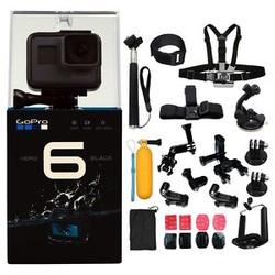 GoPro HERO 6 Black 运动摄像机 + ALL U Need Kit.套装