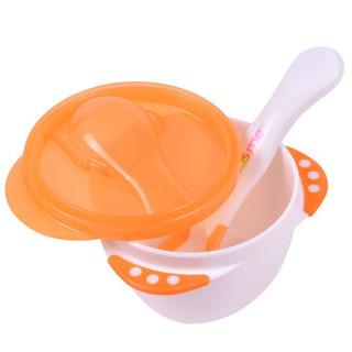 亲亲我(kidsme)儿童练习碗 餐具套装 带感温勺子(颜色随机) *18件
