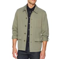 限L码:PAIGE Dalton Garment 男款衬衫式纯棉夹克