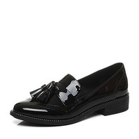 BeLLE 百丽 BLTD3CM7 女士英伦漆皮小皮鞋