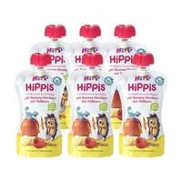 HiPP 喜宝 宝宝有机水果谷物吸吸乐(覆盆子/香蕉/苹果/全麦) 100g *6件