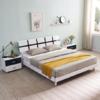 A家家具 现代简约双人床 1.5米 1698.9元