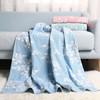 毛毛雨 纯棉双层纱布毛巾被 蓝色 150*200cm 59元包邮(需用券)