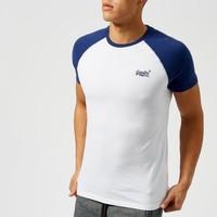 Superdry 极度干燥 橙标系列 男士纯棉T恤