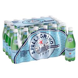 San Pellegrino 圣培露 含气天然矿泉水 塑料瓶装 500ml*24