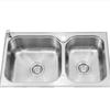 科勒(KOHLER)丽斯台上厨盆水槽双槽K-72829T-2SD-NA(不含龙头及其他)(72829 默认) 630元