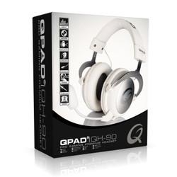 酷倍达(QPAD ) QH-90头戴式电脑音乐绝地求生游戏耳机麦克风话筒吃鸡耳机电竞耳机 QH-90白色