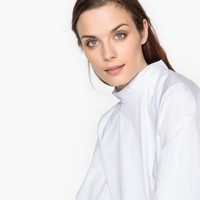 La Redoute Collections 女士纯棉立领灯笼袖衬衫