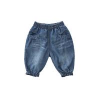 Oissie 奥伊西 1-4岁宝宝纯棉松紧腰牛仔裤