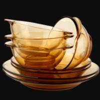 康宁 PYREX 透明餐具套装 8件套