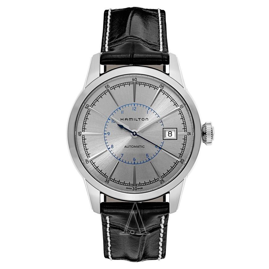 超值黑五、银联爆品日 : HAMILTON 汉米尔顿 美国经典系列 H40555781 40mm 男士机械手表