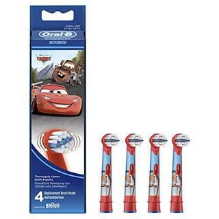新低!Oral-B Stages Power 儿童电动牙刷头 4枚装