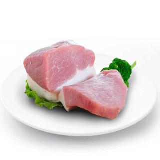 双汇 冰鲜带皮后腿肉 500g/袋 *9件