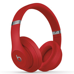 Beats Studio 3 Wireless 头戴式无线蓝牙耳机 红色
