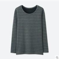 UNIQLO 优衣库 HEATTECH EXTRA WARM 400475 女士圆领T恤