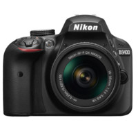 Nikon 尼康 D3400 单反相机 套机(AF-P DX 18-55mm f3.5-5.6G VR镜头)