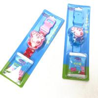 小猪佩奇 手表带奶片糖佩琪装糖 粉色佩奇加蓝色乔治款