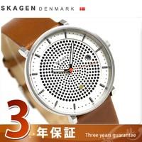 sukagenharudosoramenzu手表SKW6277 SKAGEN白×棕色