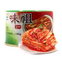 韩国进口九日(JIUR)味祖泡菜罐头 腌渍泡菜下饭菜 160g *2件