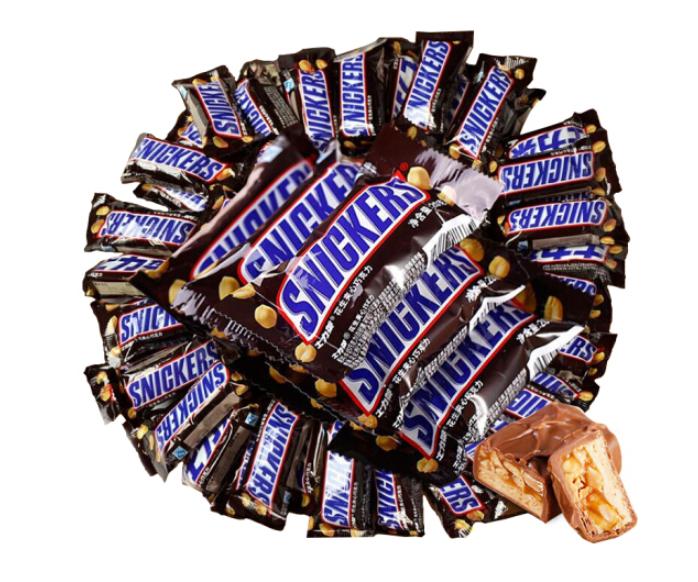 SNICKERS 士力架 花生夹心巧克力 1000g