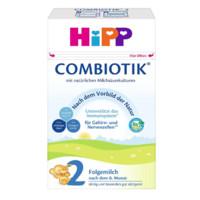 HIBBO 喜宝 ComBiotik系列 婴幼儿配方奶粉 2段 600g*4盒(6-10个月)德国版