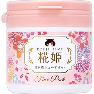 凑单品 : Kouji hime 糀姬 花姬酒糟去角质美白水洗面膜 150g