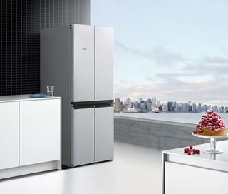 SIEMENS 西门子 BCD-481W(KM49EA90TI) 481升 对开门冰箱