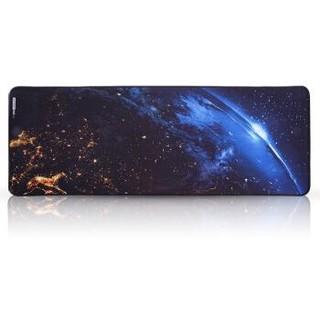 镭拓(Rantopad) H1X游戏鼠标垫 超大号桌垫 加厚键盘垫 星球